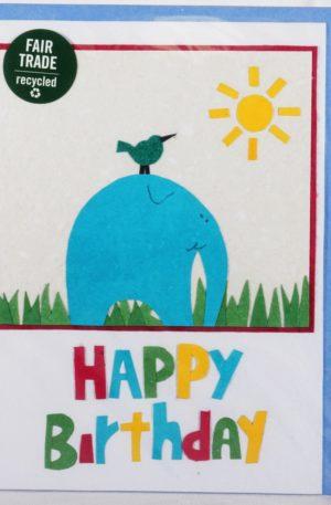 Grußkarte – Geburtstag – Big and Small Wishes