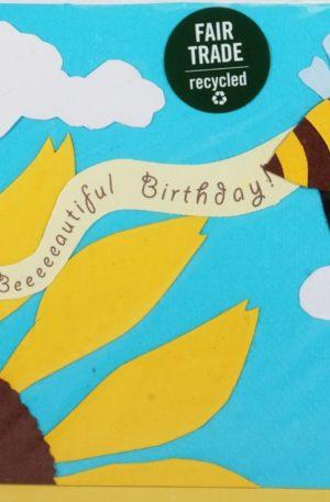 Grußkarte – Geburtstag – Bee-eautiful Birthday
