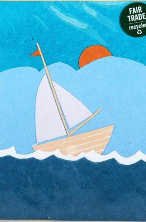 Grußkarte – Bilder – Sail Away