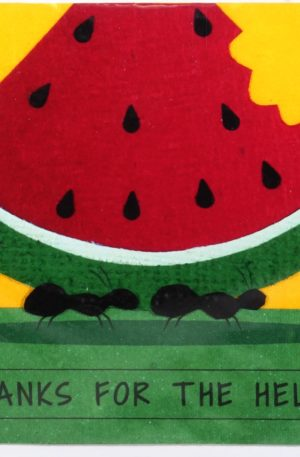 Grußkarte – Danksagung – Thank You Ants