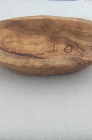 Seifenschale klein – Olivenholz – 9-10cm