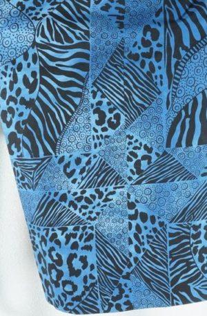 Zebra Cobalt Blue C – Amafu (25,00 EUR / m)