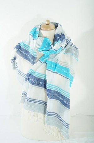 Schal – Adi Turquoise – Äthiopien