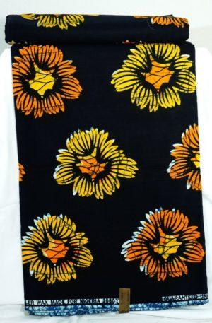 Wax Print – Kornblumen (13,00 EUR / m)