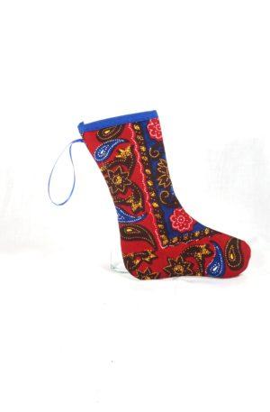 Stiefel – Rot Blau