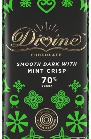 Dunkle Schokolade – Minz-Crisp – 70%