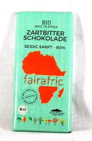 Zartbitter-Schokolade – 60% – seidig-sanft – Made in Africa