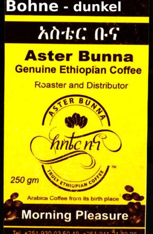 Aster Bunna Kaffee – dunkel – Bohne (26,80 EUR / kg)