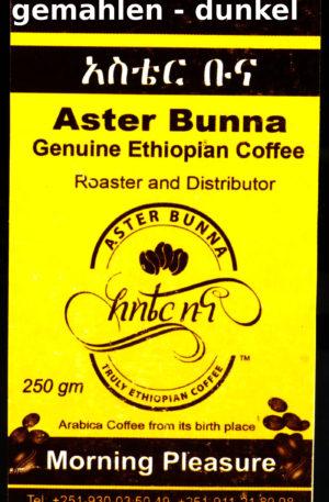 Aster Bunna Kaffee – dunkel – gemahlen (26,80 EUR / kg)