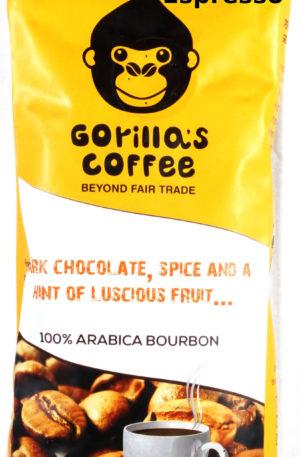 Gorilla's Kaffee – Espresso – Bohne (27,60 EUR / kg)